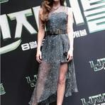 Vestidos importados assimétricos de Megan Fox – Vestidos Chiffon