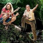 "Entretenimento - Desafio Dose Dupla ""Léo e Coronel Leite"" gravam episódio no Vale do Ribeira"