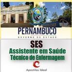 Apostila secretaria da saúde pernambuco SES PE 2014 assistente em saúde técnico de enfermagem