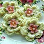 Flores de Crochê!