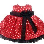 Vestidos de festa infantil Minnie