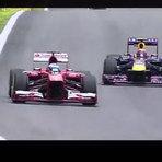 """Menino do """"Taca-le pau, Marcos"""" vira garoto propaganda e narra uma largada do GP do Brasil de Formula 1"""