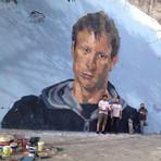 Homenagem a Tony Hawk em Buenos Aires.