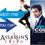 Crimes do colarinho branco, Assassin's Creed e Prenda-me se for capaz