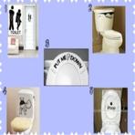 10 Adesivos bem humorados para colocar no banheiro