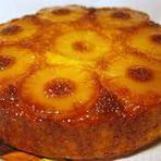 Culinária - Bolo de ananás