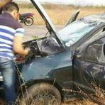 Motorista dorme no volante, perde controle e capota veículo no município de Patu (RN)
