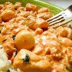 Culinária - Frango com champignon e requeijão. Por Chef Henrique Burd