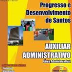 Apostila Auxiliar Administrativo Concurso Prodesan-SP 2014