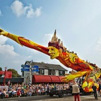 Curiosidades - Festival Corso de Zundert 2014: uma festa de carros alegóricos decorados com flores