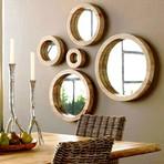 Arquitetura e decoração - Decoração Com Espelhos Redondos, As Melhores Dicas E Imagens!