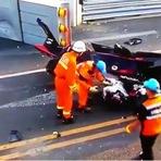 Fórmula 1 - Chocante! Fórmula E estreia com acidente incrível