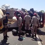 Acidente grave deixa um morto hoje pela manhã na BR 226 próximo a Wanderlãndia Tocantins