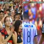 FUTEBOL Flamengo vence Corinthians por 1 a 0 no Maracanã.