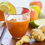 Receita de 5 sucos detox com gengibre para emagrecer com saúde e ficar com o corpo em forma