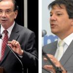 """Haddad responde Aloysio Nunes: """"O PSDB governa para 10% da população"""""""