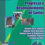 Apostila para o processo seletivo do Progresso e Desenvolvimento de Santos PRODESAN - Vários cargos