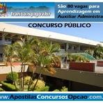 diHITT & Você - Concurso Aprendiz da Prefeitura de Franca - SP 2014 para Auxiliar Administrativo