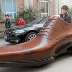 Seu novo carro pode ser um sapato gigante!