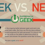 Geek x Nerd! Qual o seu lado da força?