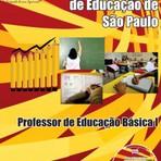 Apostila PROFESSOR DE EDUCAÇÃO BÁSICA I - Concurso Secretaria de Estado da Educação de São Paulo 2014