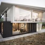 Arquitetura e decoração - A casa M