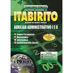 Apostila Digital Concurso Prefeitura de ITABIRITO-MG Auxiliar Administrativo I e II, Guarda Civil Municipal