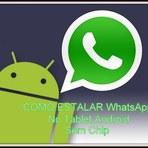 Como Istalar WhatsApp No Tablet Android (Sem Chip)