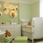 Decoração de quarto de bebê safári