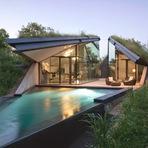Arquitetura e decoração - Edgeland House