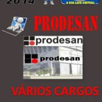 Apostila Concurso Publico Prodesan Varios Cargos 2014