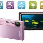 Câmeras aquáticas Sony