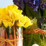 Arranjos de flores dão toque especial na decoração de ambientes