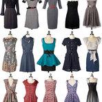 Veja fotos de vestidos