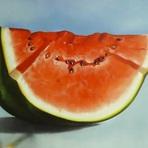 Pintura - Pintando uma melancia passo a passo no tecido