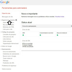Error Missing Required : Resolver os problemas de Avisos do Google