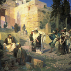 Religião - Jesus na multidão III