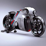 A superbike do filme TRON ganha vida pelas mãos da Lotus