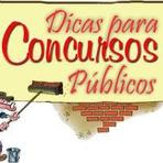 Concursos Públicos - Dicas para Concursos Públicos