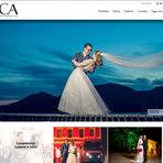 Criação de Sites: CA Fotografia