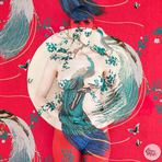 A pintura corporal camuflada de Emma Hack