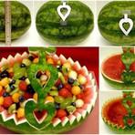 Arte & Cultura - Como fazer corte em melancia