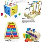 Brinquedo educativo de madeira