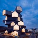 Arquitetura moderna ganha vida em série de gifs