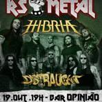 Música - Distraught toca ao lado do Hibria no VII RS Metal Fest
