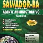 Concursos Públicos - Apostila Impressa Prefeitura de Salvador BA 2014 - Agente Administrativo
