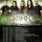 Música - Noturnall divulga extensa turnê nacional para Novembro