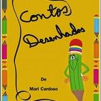 """Livros - Livro """"Basta imaginar - Contos Desenhados"""" da escritora Mari Cardoso"""