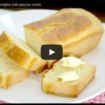 Culinária - Receita de pão caseiro simples  (não precisa sovar)