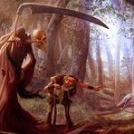 Poesias - A Morte e o Lenhador, Cordel